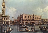 View of the St. Mark-s Basin, c.1732, canaletto