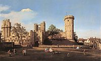 Warwick Castle: the East Front, 1752, canaletto