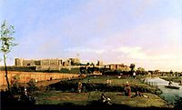 Windsor Castle, 1747, canaletto