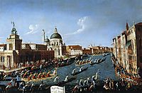 The Women s Regaton the Grand Canal, c.1766, canaletto
