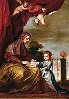 Education of the Virgin, c.1645, cano