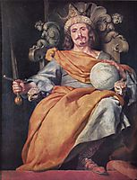 Ideal portrait of a Spanish King, c.1643, cano