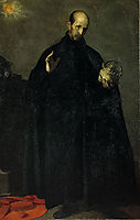 San Francisco de Borja (Saint Francis Borgia), 1624, cano