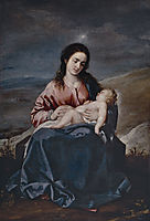 The Virgin and Child , 1643, cano