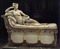 Paolina Borghese as Venus Victrix, 1808, canova