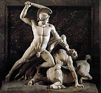 Theseus and the Centaur, 1819, canova