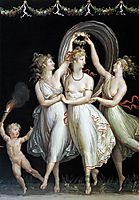 The Three Graces Dancing, 1799, canova