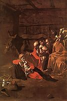 Adoration of the Shepherds, 1609, caravaggio