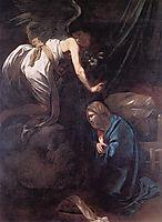 The Annunciation, 1608-1609, caravaggio