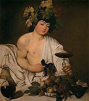 Bacchus, ~1596, caravaggio