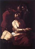 The Crowning with Thorns, 1602-1603, caravaggio