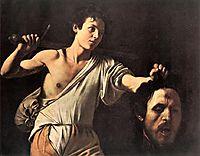 David and Goliath, 1606-1607, caravaggio