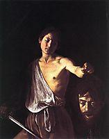 David and Goliath, 1609, caravaggio