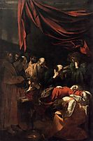Death of the Virgin, 1606, caravaggio