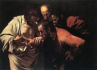 The Doubting Thomas, 1601-1602, caravaggio