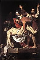 The Entombment, 1602-1603, caravaggio