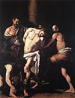 The Flagellation, ~1607, caravaggio