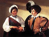 The fortune teller, 1596-1597, caravaggio