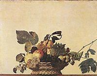 Fruit Basket, ~1597, caravaggio