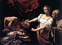 Judith beheading Holofernes, ~1598, caravaggio