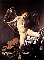 Love Victorious, 1602-1603, caravaggio