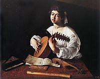 The lute player, ~1600, caravaggio