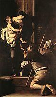 The Madonna of the Pilgrims, 1603-1605, caravaggio