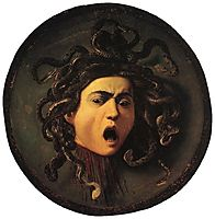 Medusa, 1598-1599, caravaggio