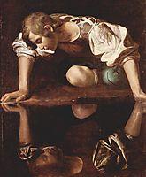 Narcissus, 1598-1599, caravaggio