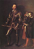 Portrait of Alof Wignacourt, 1607-1608, caravaggio