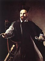 Portrait of Maffeo Barberini, 1599, caravaggio