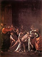 The Resurrection of Lazarus, 1608-1609, caravaggio
