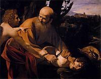 The Sacrifice of Isaac, 1601-1602, caravaggio