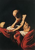 Saint Jerome, 1605-1606, caravaggio