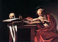 Saint Jerome, ~1606, caravaggio