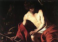 Saint John the Baptist, 1603-1604, caravaggio