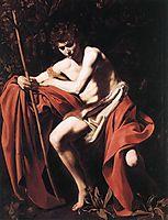 Saint John the Baptist, 1604, caravaggio