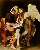 Saint Matthew and the Angel, 1602, caravaggio