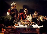 The Supper at Emmaus, 1601-1602, caravaggio