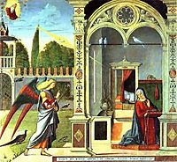 The Annunciation , 1504, carpaccio