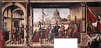 The Arrival of the English Ambassadors, 1498, carpaccio