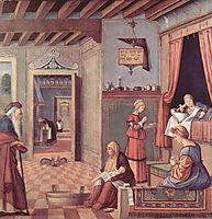 The Birth of the Virgin, 1508, carpaccio