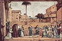Burial of St. Jerome, 1509, carpaccio