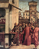 The Calling of St. Matthew , 1507, carpaccio