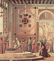 The Departure of the English Ambassadors, 1498, carpaccio