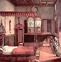 Dream of St.Ursula, 1495, carpaccio