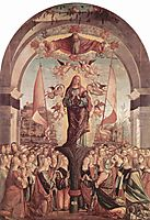 Glorification of St. Ursula and her Companions, 1491, carpaccio