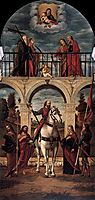 The Glory of St. Vidal, 1514, carpaccio