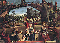 Holy Conversation, c.1505, carpaccio