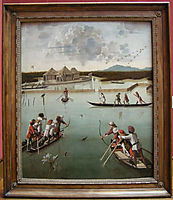 Hunting on the Lagoon, c.1490, carpaccio